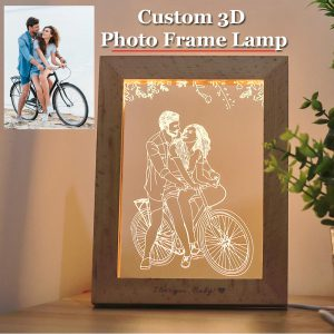 Custom 3D Photo Lamp_rollnflip