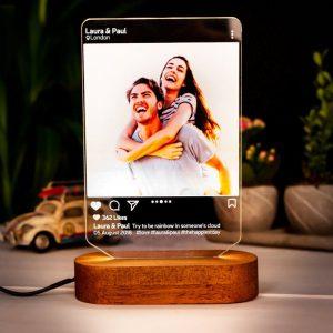Instagram Style 3D Led Lamp Gift_rollnflip