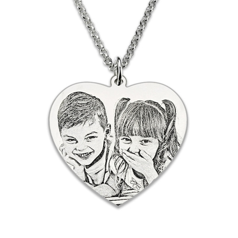 Custom Photo Engraved Necklaces_RollnFlip