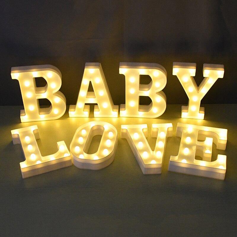 LED Letter Lights Baby Love_RollnFlip