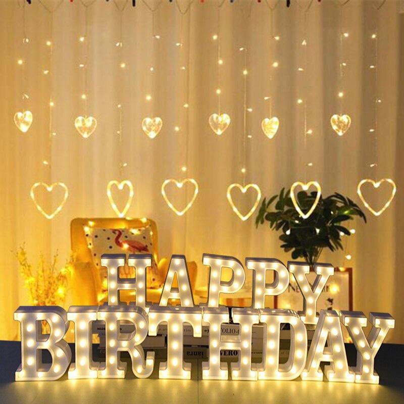 LED Letter Lights Happy Birthday_RollnFlip