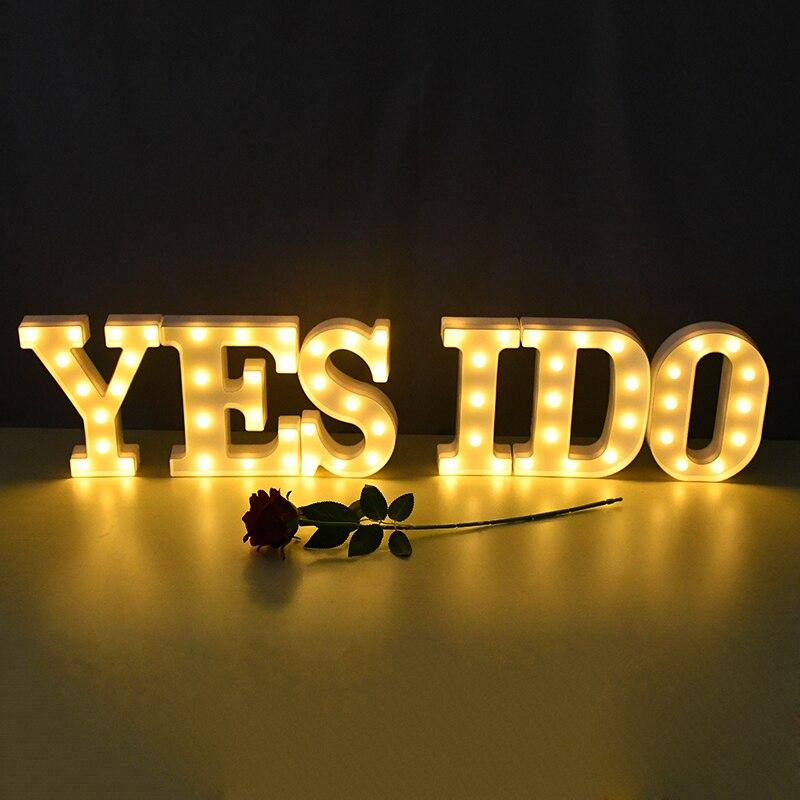 LED Letter Lights Yes I Do_RollnFlip