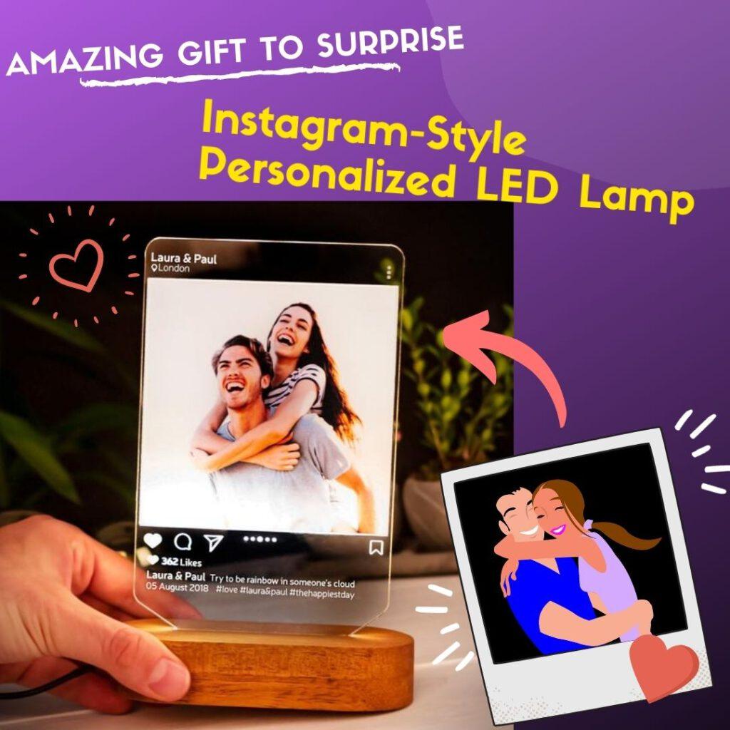 RollnFlip Instagram Style Photo Desk Lamp