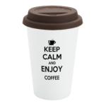Brown Custom Travel Mug