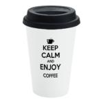 Black Custom Travel Mug