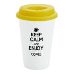 Yellow Custom Travel Mug