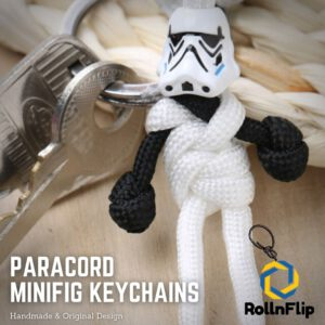 Stormtrooper (ver. 2) Paracord Minifig Keychain