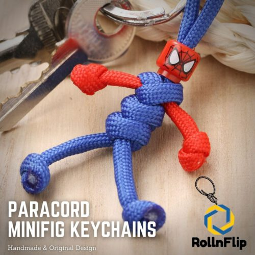 Paracord Minifig Keychains