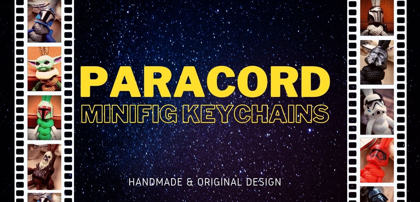 Paracord Minifig Keychains (Star Wars)