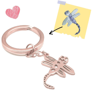 Turn Your Kid's Drawing into Unique Keychain