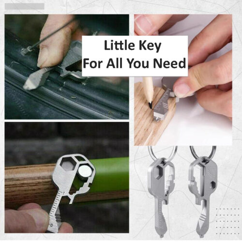 24-in-1 Compact Key Multi-Tool - Little Key to Suit All You Need