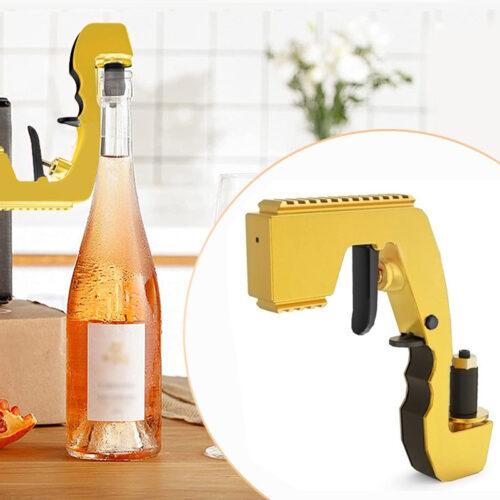 2-in-1 Wine Stopper & Champagne Sprayer