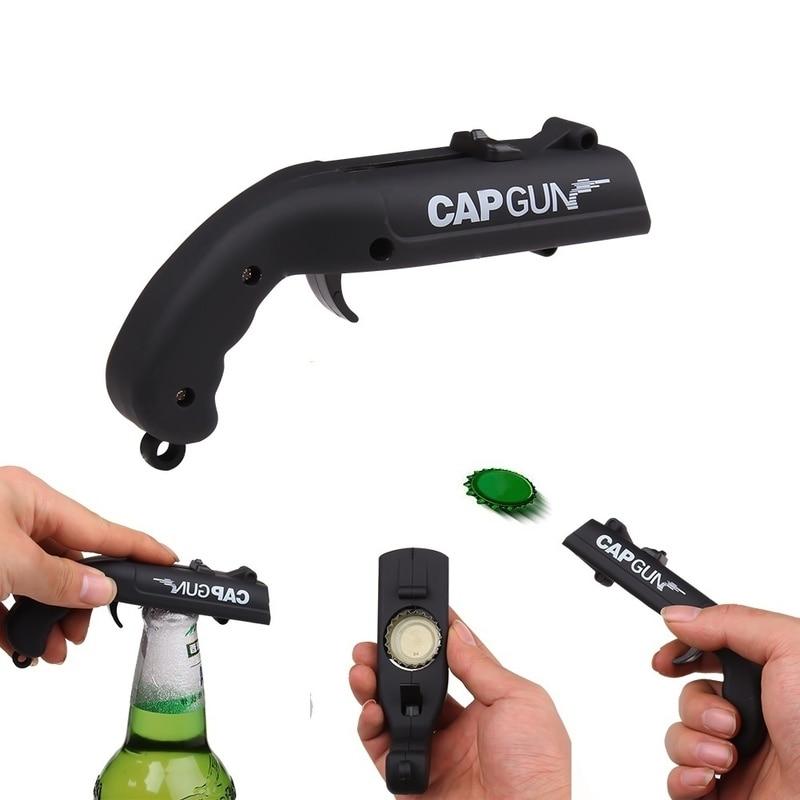 Beer Opener & Bottle Cap Gun Shooter