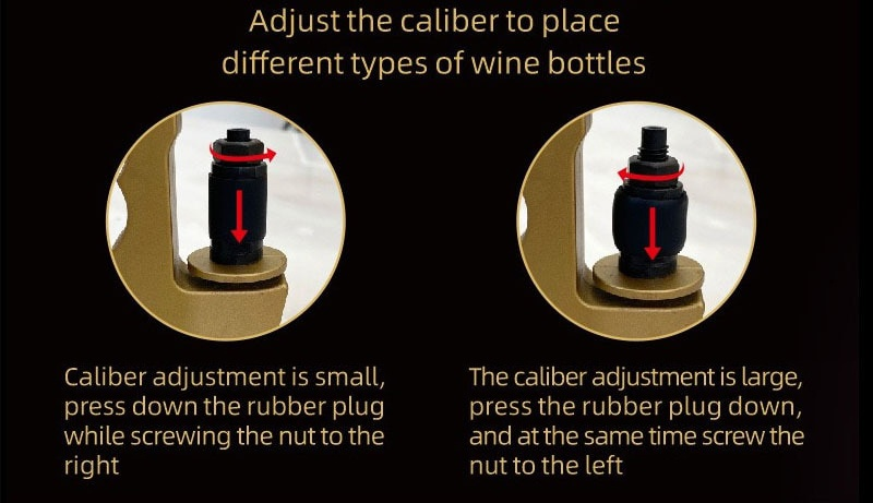 2-in-1 Wine Stopper & Champagne Sprayer illustration