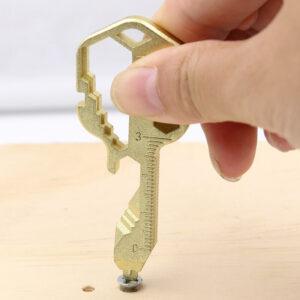 24-in-1 Compact Key Multi-Tool as Screwdriver